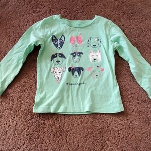 Carter's 24m long sleeve girls top